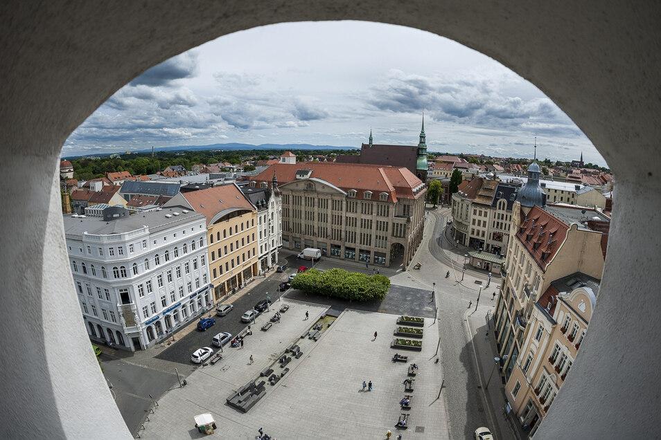 Der Marienplatz: ein Görlitzer Zentrum kulturellen und touristischen Lebens, aber auch Kriminalitätsschwerpunkt. Er soll nun Videoüberwachung bekommen.