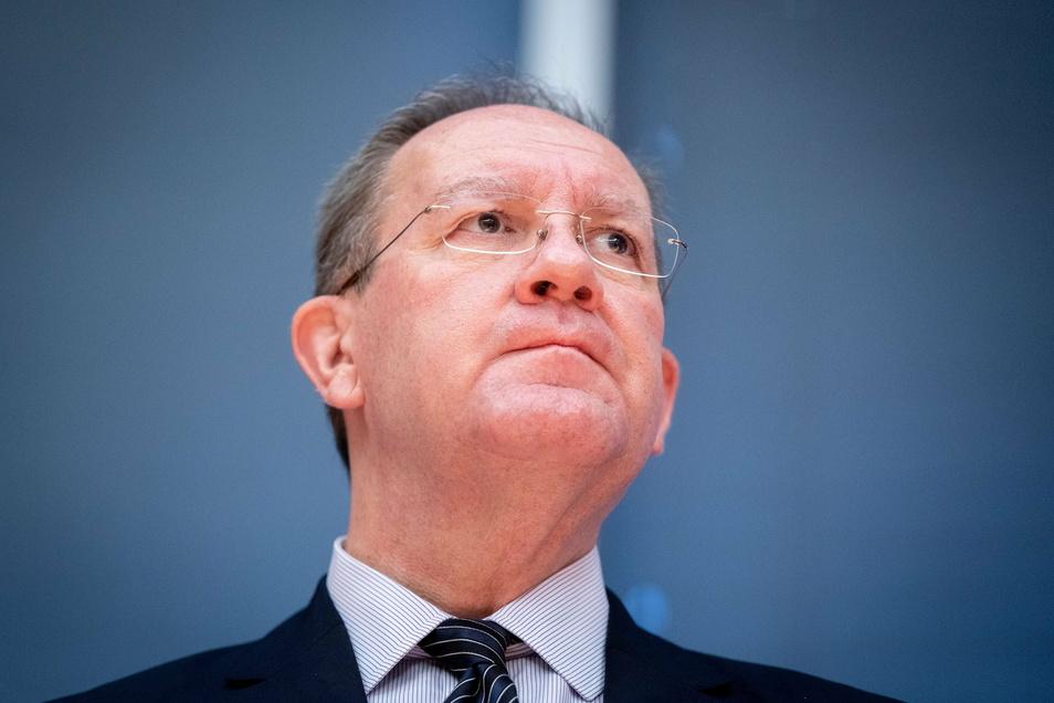 Felix Hufeld, Präsident der Bundesanstalt für Finanzdienstleistungsaufsicht (BaFin) hört auf.