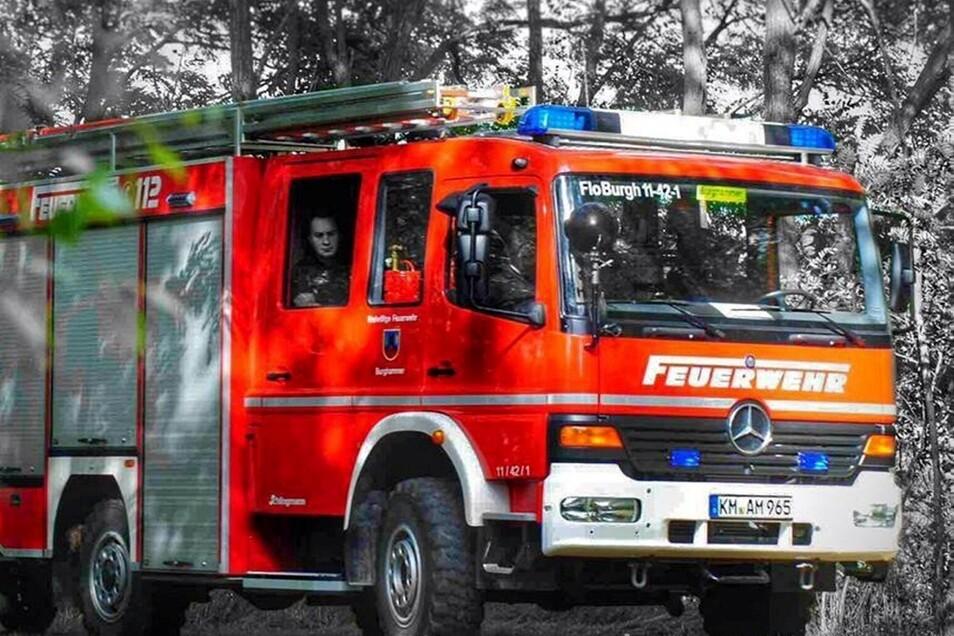 Insgesamt 44-mal rückten 2019 die Mitglieder der Freiwilligen Feuerwehren Spreetal zu Einsätzen aus – hier ein Fahrzeug der Feuerwehr Burghammer.