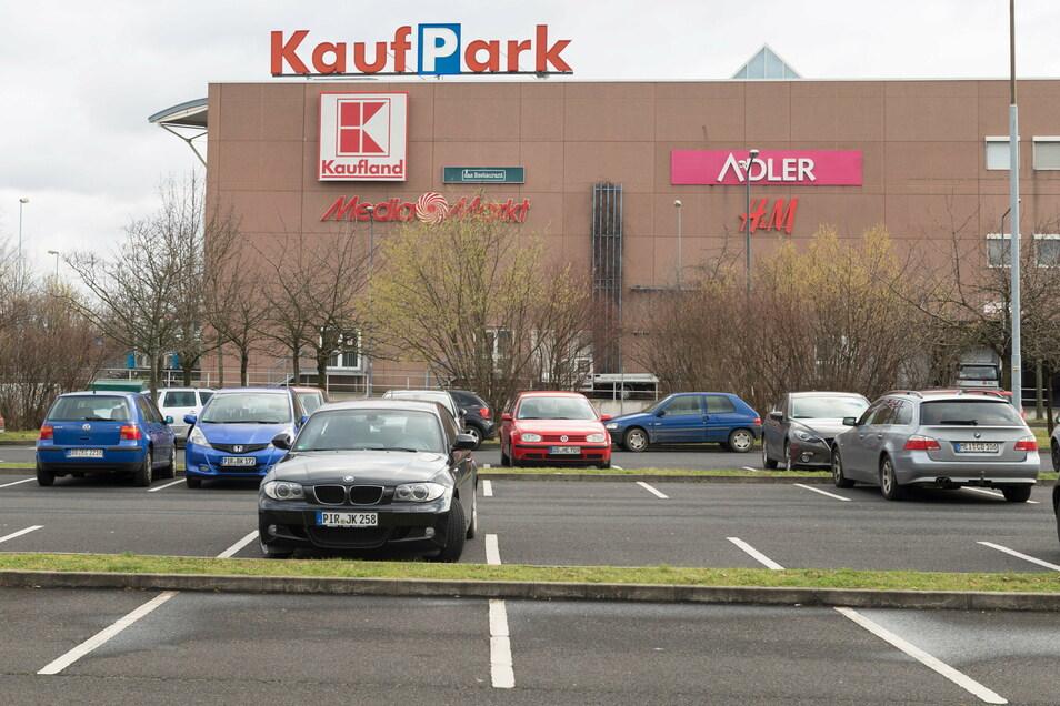 Der Kaufpark an der Dohnaer Straße in Nickern ist schon jetzt zu groß, moniert das City Management.
