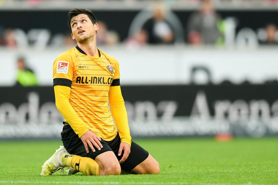 Der Blick geht zurück. Auch in der neuen Saison wird Jannis Nikolaou in der 2. Bundesliga spielen, aber nicht für Dynamo.