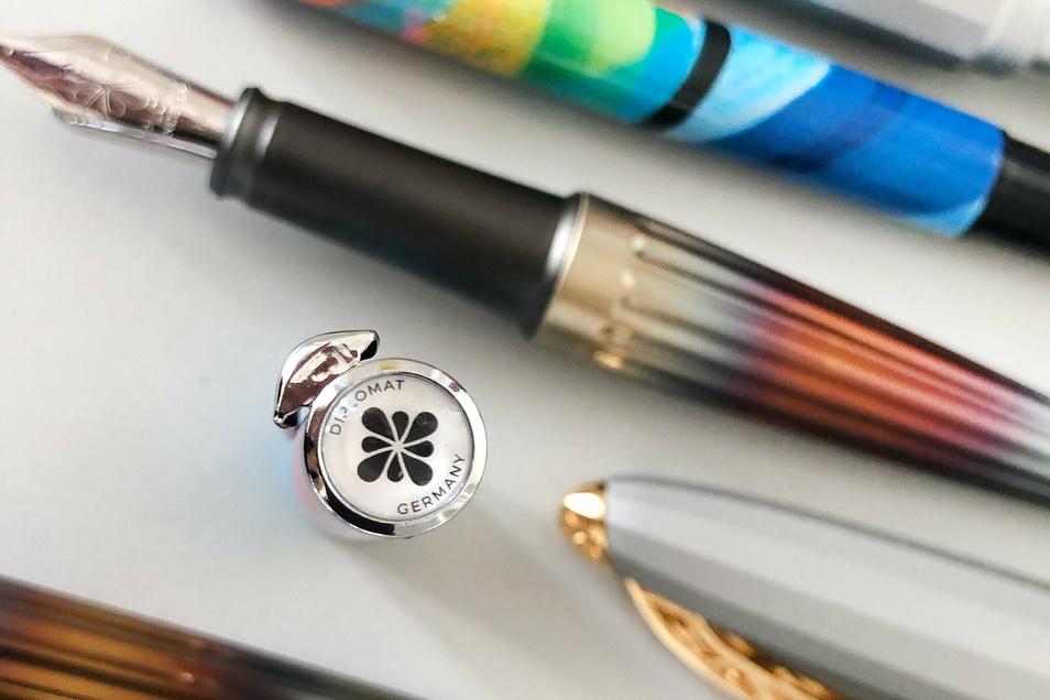 Modern, innovativ und edel im Material – so ist Schreibgerät aus Cunewalde.
