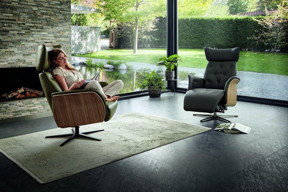Relaxsessel bieten höchsten Komfort für die kleine Auszeit zwischendurch. Bei Käppler wird dabei auch Wert auf nachhaltige Produktion und ansprechendes Design gelegt.