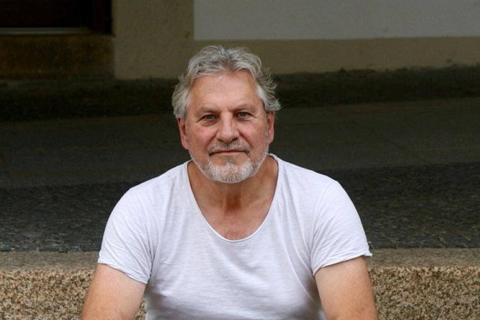 Der Schauspieler Andreas Rüdiger spielte 2007/08 im Sommertheater auf dem Untermarkt mit und zog danach bald nach Görlitz.