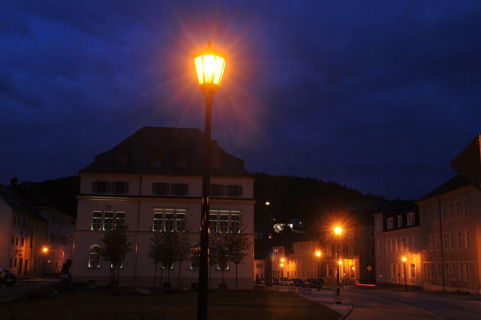 Glashütte möchte  nicht nur  bei der Straßenbeleuchtung Strom sparen.