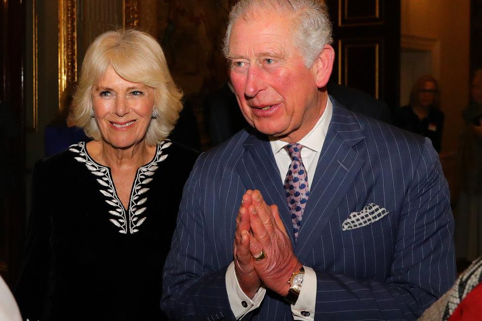 Prinz Charles hat Corona, seine Frau Camilla ist nicht infiziert.