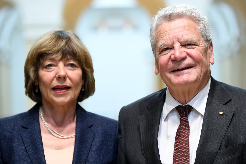 Der Ex-Bundespräsident und seine Lebensgefährtin Daniela Schadt.