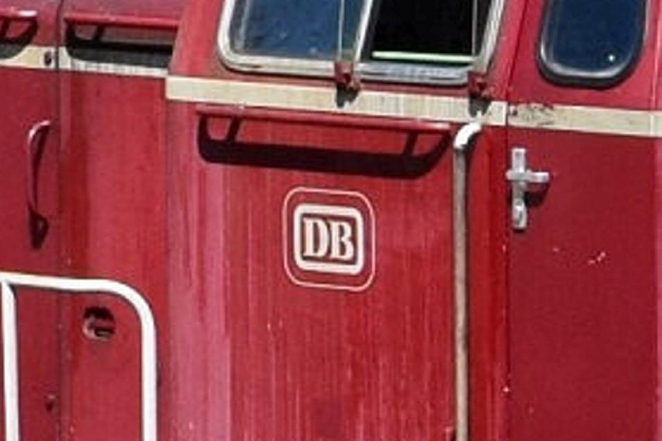 Das Logo der Deutschen Bundesbahn ist gut zu erkennen.