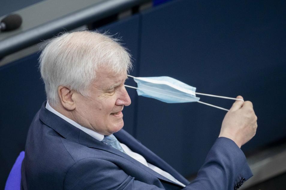 Horst Seehofer (CSU), Bundesminister des Innern, für Bau und Heimat.