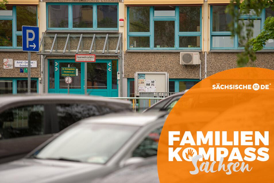 Parkplatz Schule: Es sind zwar morgens nur ein paar Minuten, doch die haben es nicht nur an der Mügelner Grundschule in sich.