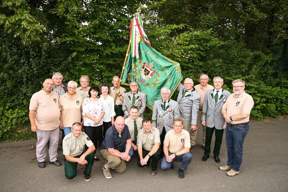 Die Mitglieder der Privilegierten Bürgerschützengesellschaft zu Leisnig feiern das 600-jährige Vereinsjubiläum.