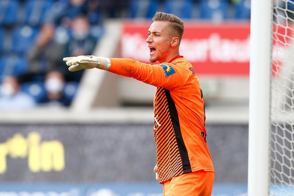 In Wiesbaden ist Tim Boss die Nummer eins, verpasste keine Minute. Gegen Bayern München II faustete er sich den Ball zuletzt aber ins eigene Tor.