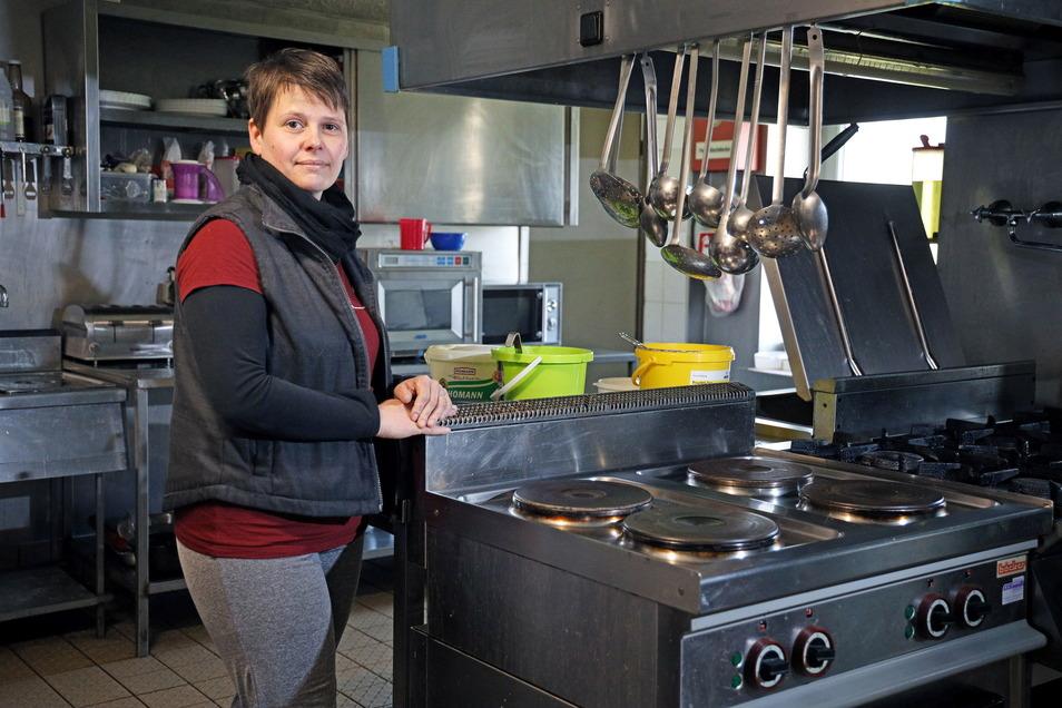 Katrin Neubauer in der Küche. Mit dem Lieferservice soll schon Ende Mai Schluss sein.