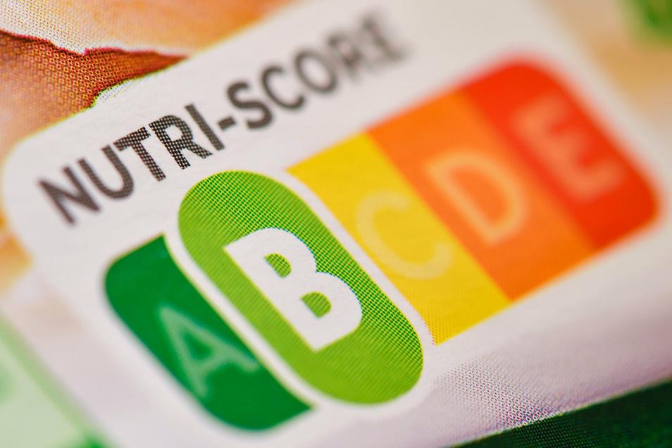 Der sogenannte Nutri-Score ist eine farbliche Nährwertkennzeichnung - hier auf einem Fertigprodukt.