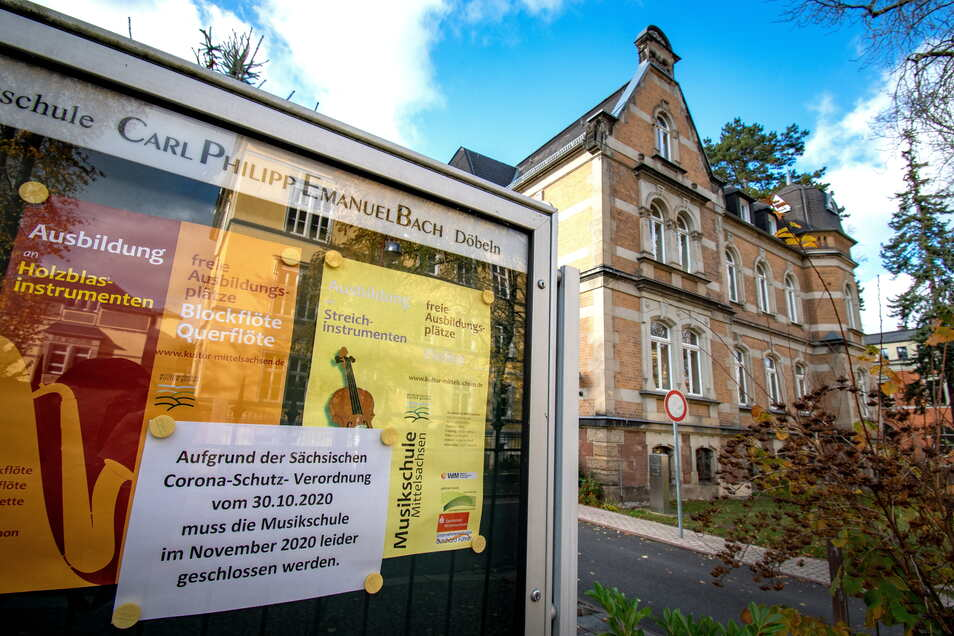 Im November hatte die Musikschule wegen Corona ihren normalen Betrieb eingestellt.