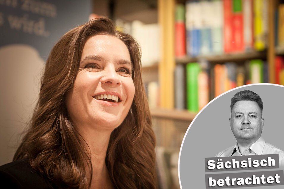 In seiner Kolumne nimmt SZ-Redakteur Gunnar Saft Bezug auf Geschehnisse in Sachsen - in dieser Woche unter anderem auf die Lockdown-Kritik von Kati Witt.