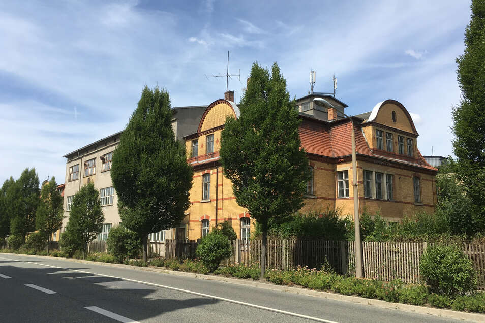 Die ehemalige Anker Teigwaren Fabrik in Löbau.