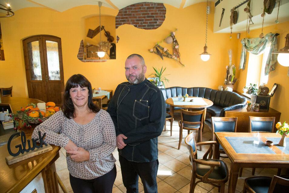 Jaqueline Gebel und Manuel Hannappel haben den Gasthof Ziegelei an der Fichtenhöhe gepachtet und wiedereröffnet.