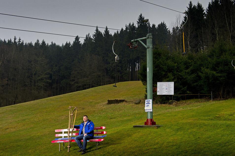 Der Sebnitzer Skiklub betreibt im Räumicht zwei Abfahrtshänge.