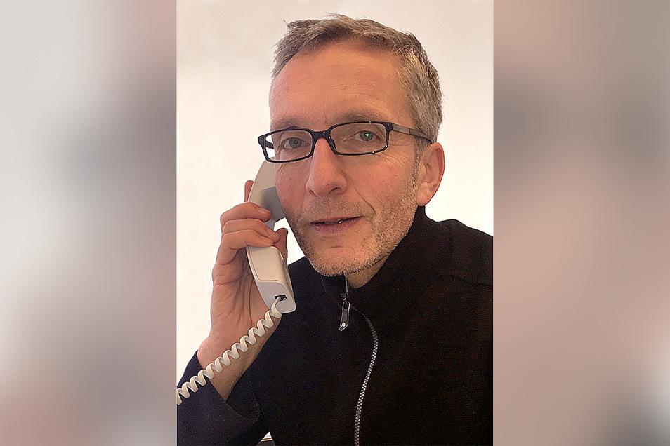 Prof. Dr. Reinhard Berner, Direktor der Klinik und Poliklinik für Kinder- und Jugendmedizin der Uniklinik Dresden.