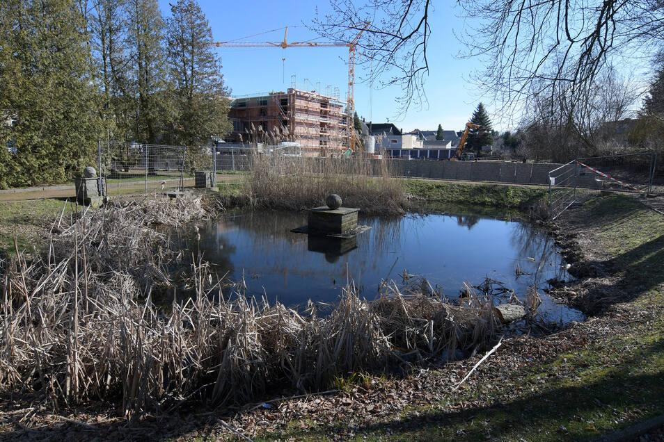 """Im Stadtparks """"Am Reinhardtsthal"""" soll sich in den kommenden Jahren viel ändern. Er soll zum """"Treffpunkt von Jung und Alt"""" werden, wie es Bürgermeister Ronald Kunze bezeichnet."""