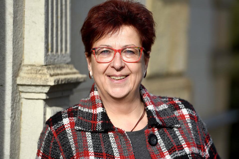 Hat ein Treffen der B96-Bürgermeister initiiert: Ebersbach-Neugersdorfs Bürgermeisterin Verena Hergenröder.