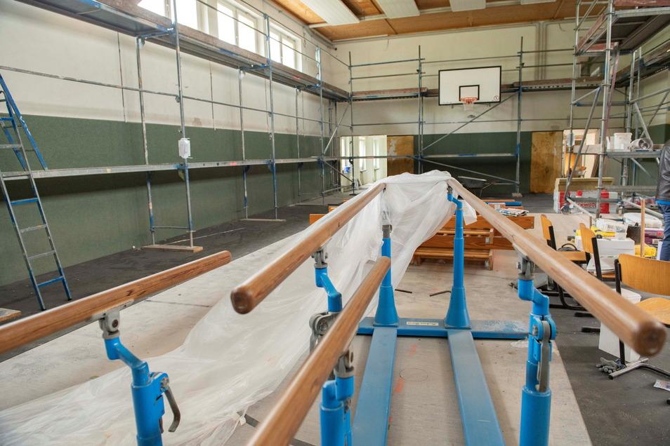 Die Turnhalle an der Oberschule Am Kupferberg wird saniert und erhält einen kleinen Anbau.