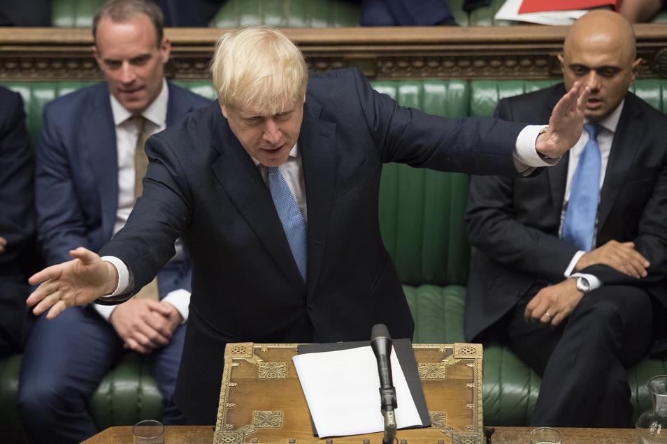 Großbritanniens Premierminister Boris Johnson will das Parlament vor dem Brexit-Termin Ende Oktober schließen.