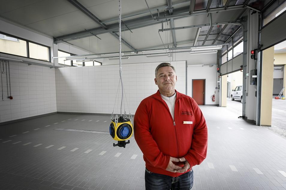 Andreas Wünsche ist jetzt nicht mehr Leiter des ASB-Rettungsdienstes in Görlitz, sondern Hauptwachkoordinator beim Rettungsdienstleister Falck.