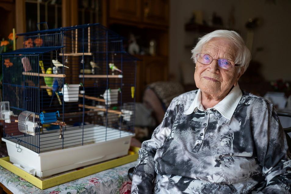 Die Görlitzerin Charlotte Alert feierte am 25. Juli ihren 100. Geburtstag.