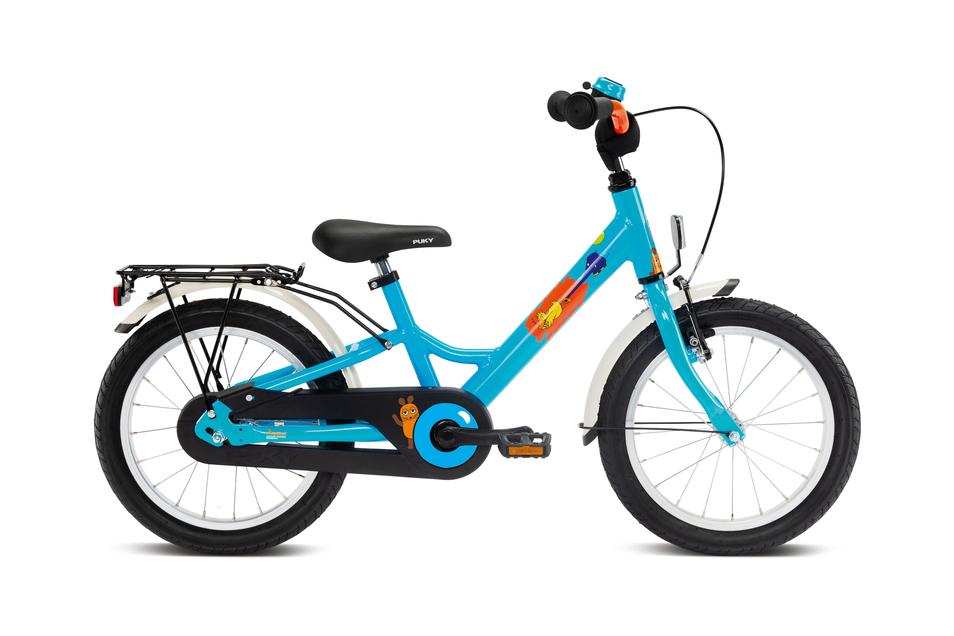 Erstrad: Die neuen, leichteren und technisch optimierten Kinderräder der Marke Puky heißen Youke. Das 16-Zoll-Modell eignet sich für Kinder mit einer Körpergröße von 1,05 bis 1,25 Meter. Preis: ab 209,99 €