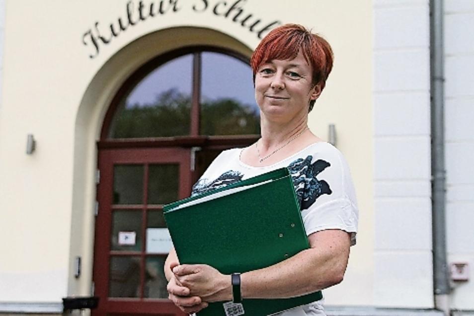 Antje Böhme ist die neue Ortsvorsteherin für Schrebitz.