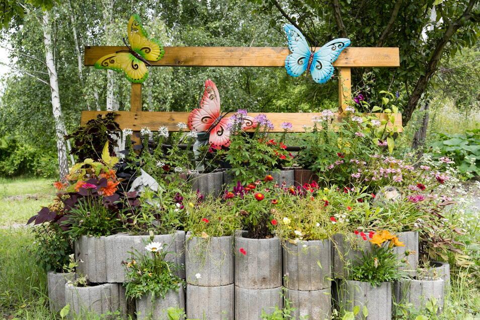 Ein Platz für Schmetterlinge.