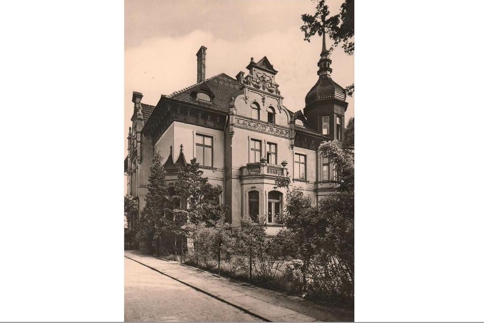 Das Haus Promenadenstraße 57 gelangte unter Kate und Gustav Williger zu größter Blüte.