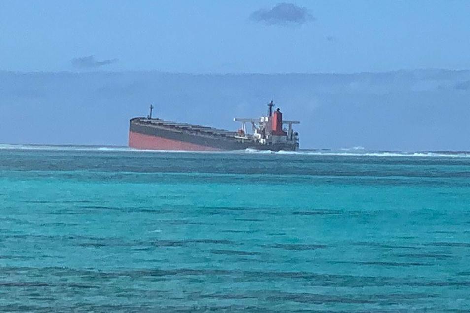 Ölkatastrophe vor Mauritius - Urlaubsparadies im Krisenmodus