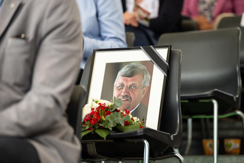 Walter Lübcke war am 22. Juni erschossen worden.