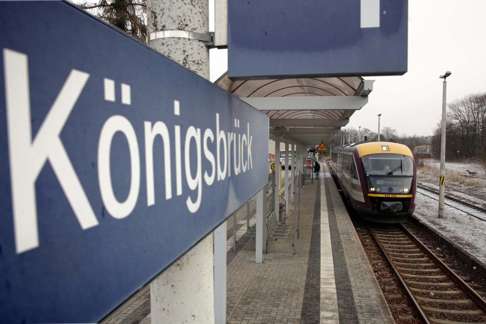 Die Zugverbindung zwischen Dresden und Königsbrück war jetzt Thema beim VVO.