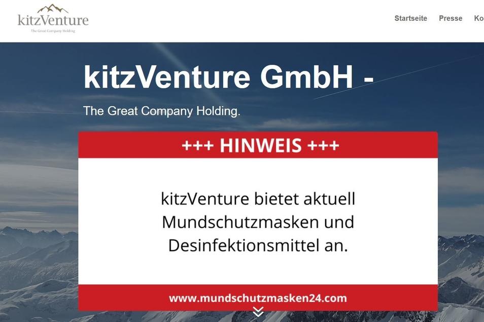 Ein Hinweis, der ins Leere führt: Über diese Firma hat eine Werbeagentur aus Wien versucht, der Stadt Dresden Atemschutzmasken zu verkaufen.