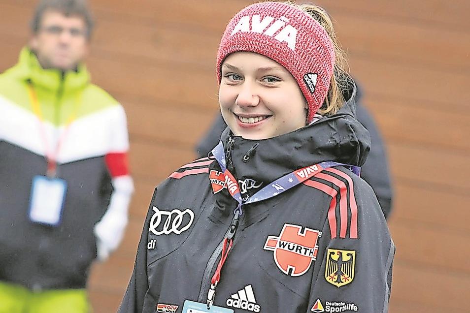 In ihrer Altersklasse bereits Deutsche Meisterin: Lia Böhme aus Karsdorf.