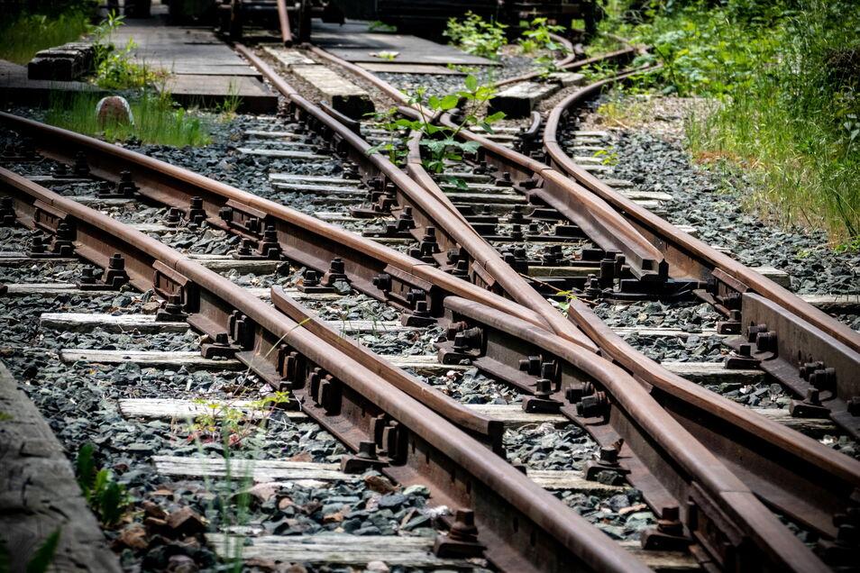 Im Moment fährt vom Bahnhof in Unterrauschenthal kein Zug - nach nirgendwo.