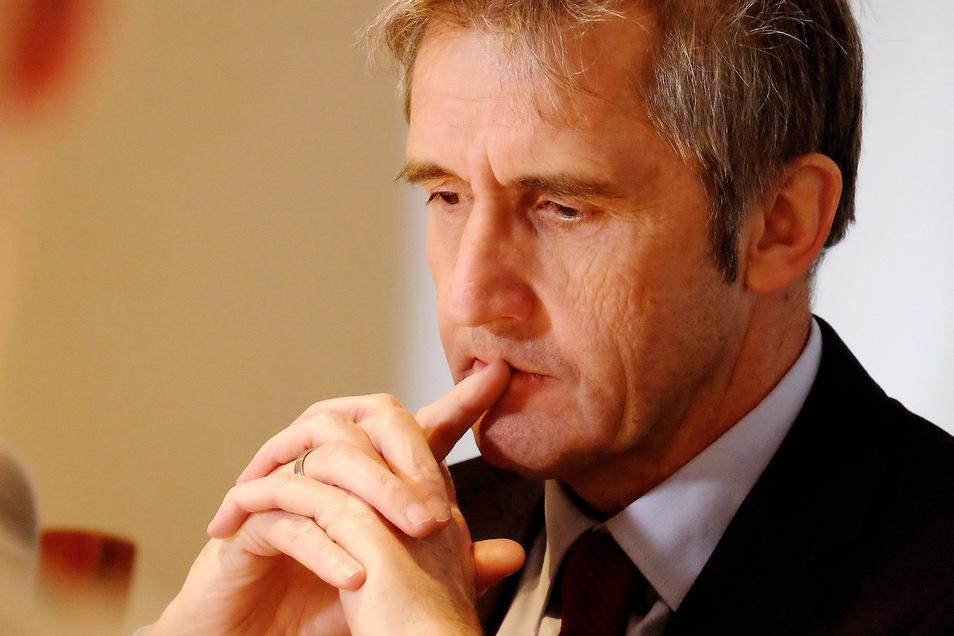 Der Meißner Frank Richter macht sich Gedanken für die Zeit mit und nach Corona. Er sitzt seit vorigem Jahr für die SPD im Landtag.
