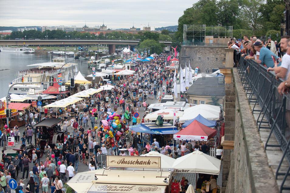 Beim Stadtfest haben die Besucher nach der Corona-Pause wieder richtig Lust, zu feiern, glaubt Veranstalter Frank Schröder.