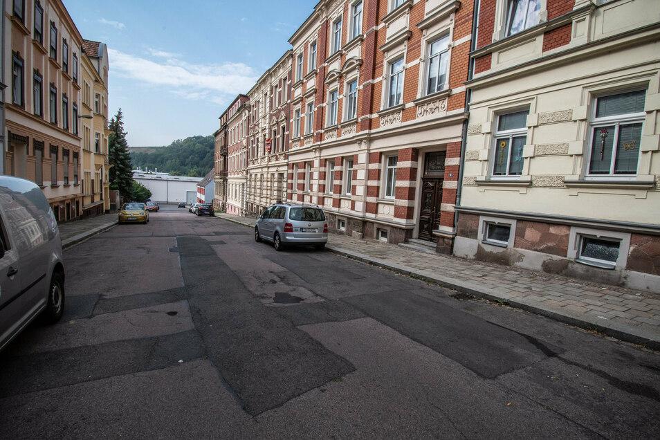 Die Weststraße in Roßwein wird 2020 nicht mehr aufgerissen, selbst wenn jetzt noch eine Förderzusage eintreffen sollte.