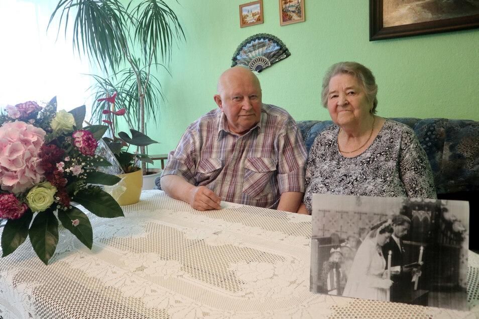 In Hoyerswerda leben Ursula und Hubert Klein seit 1969. Sie stammen ursprünglich aus Ostpreußen. Am 28. August feierten sie ein seltenes Jubiläum - die Eiserne Hochzeit.