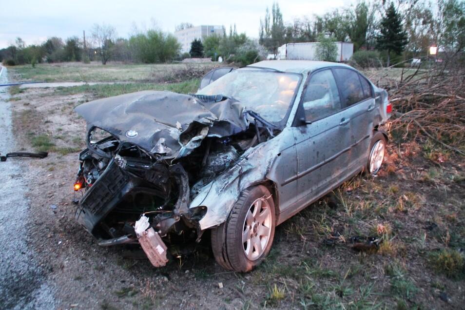 Dieser BMW wurde in der Nähe gefunden.