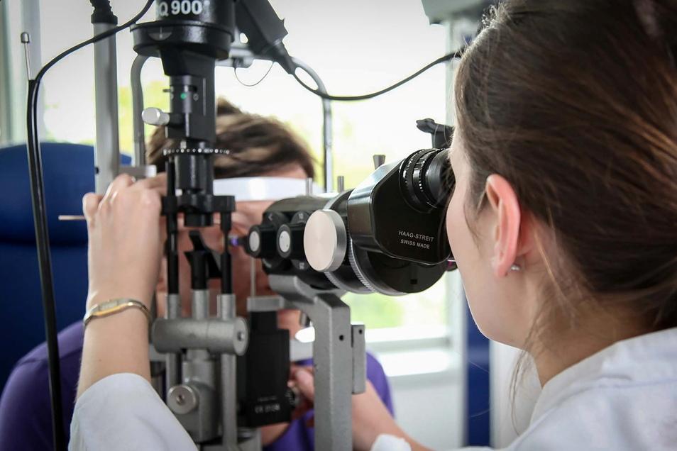 Das Medizinische Versorgungszentrum der Oberlausitz-Kliniken in Bautzen sucht einen neuen Augenarzt. Auch andere Fachärzte werden in der Region dringend benötigt.