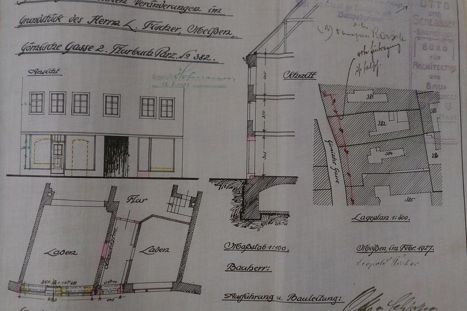 Portalausbau-Bauakte StA Meissen (2)