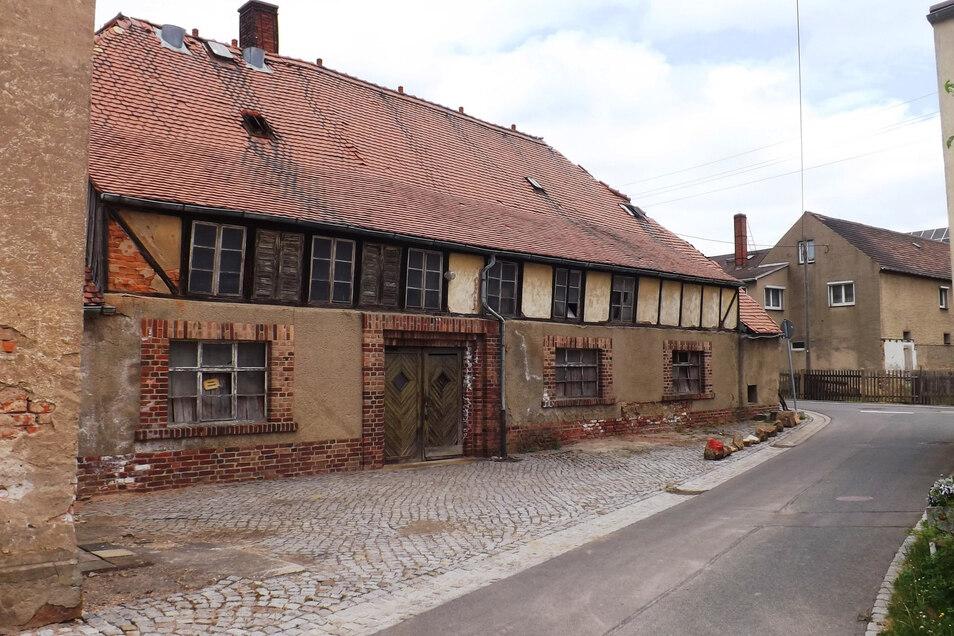Die ehemalige Brauerei der Familie Krüger im Großweitzschener Ortsteil Mockritz am 16. Mai 2016.