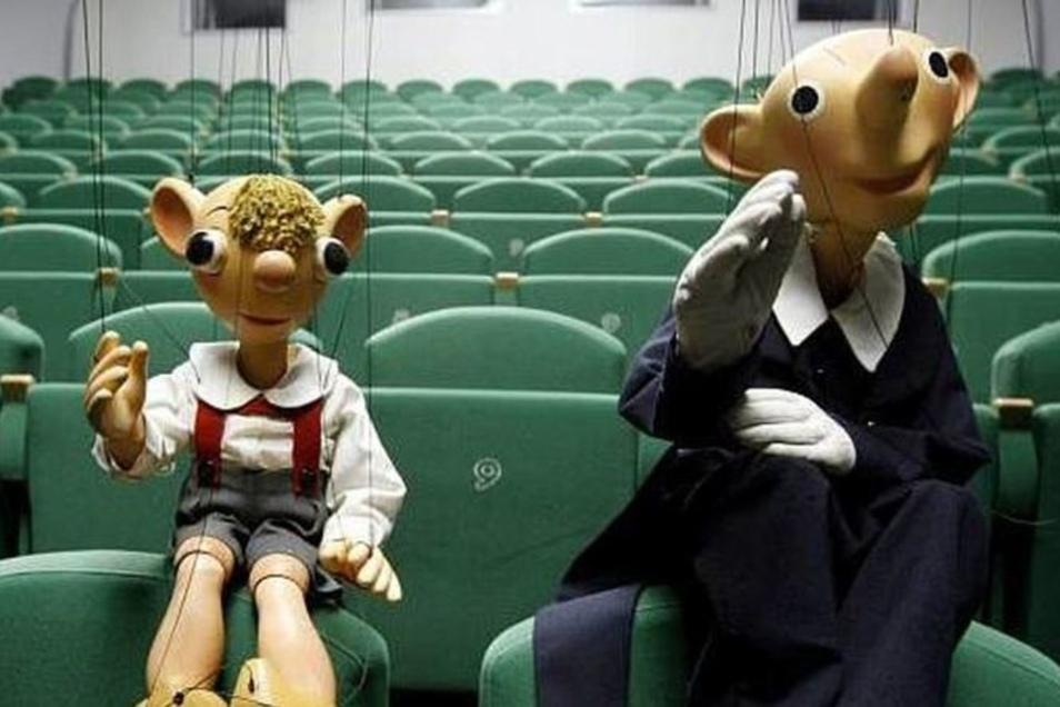 Spejbl & Hurvinek sind am Samstag in Pirna zu Gast.