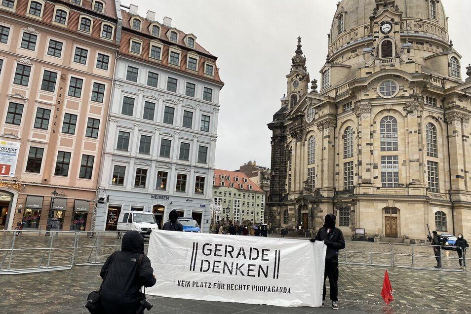Gegendemo der Jusos und der SPD Dresden